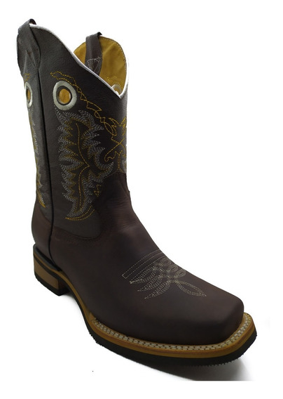 Bota Vaquera Rodeo Para Hombre Color Crazy Cafe