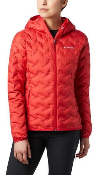 Parka Mujer Columbia Delta Ridge Jacket (658) Red Lily Tr