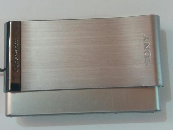 Câmera Sony Dsc T90 Lente Carl Zeiss S/ Bateria E Carregador