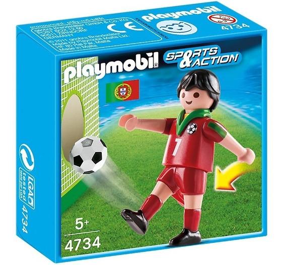 Playmobil Jogador De Futebol Escolha O Seu