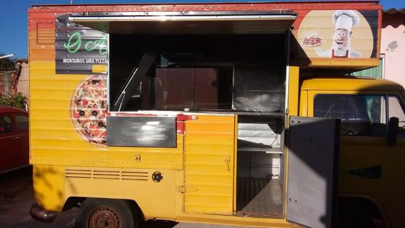 Kombi Food Truck (trailer Lanche) - 1994 Motor 1600