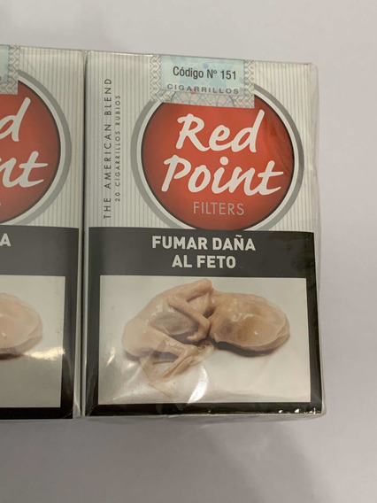 Cigarrillos Red Point Pack Por 10