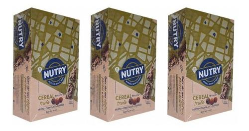Imagem 1 de 1 de Nutry Barra De Cereal Trufa C/24 (kit C/03)