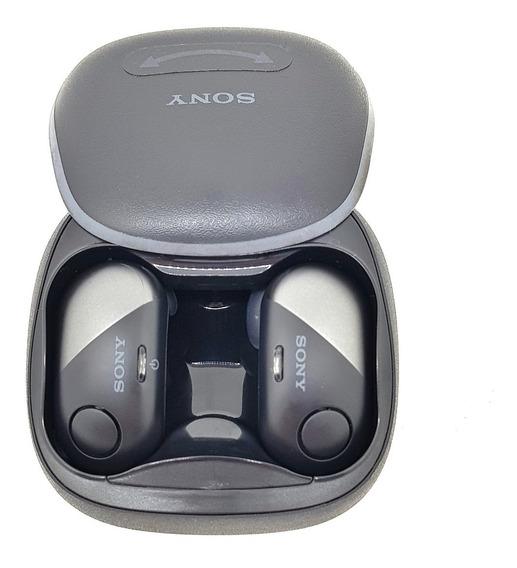 Sony Wf-sp700n Fone De Ouvido Sem Fio Bluetooth Preto
