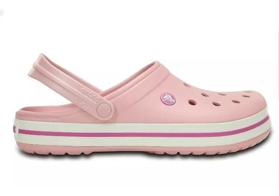 Sandalias Crocs Originales Crocband Pearl Pink Adulto