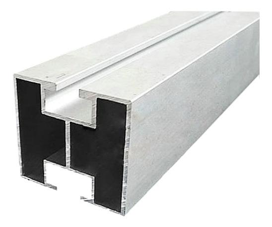 Marco Para Panel Solar, Mxpfs-001, Perfil 40mm X40mm, Tramo