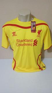 Camisa Liverpool Uniforme 2 14 2015 Promoção De 125 Por 100