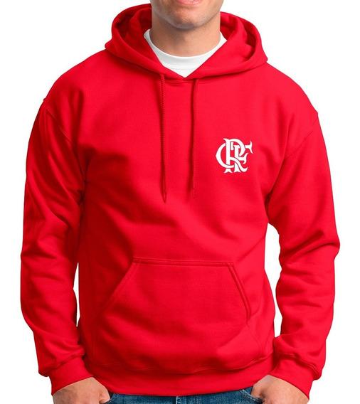 Blusa Moletom Flamengo Moleton Futebol Frio Casaco Unissex