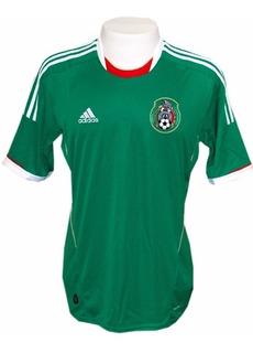 Camisa adidas México 2012 Verde S-nº