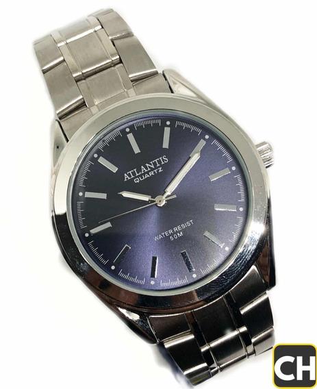Relógio Atlântis Masculino Original Aprova D