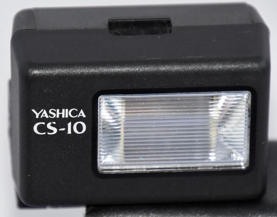 Flash Yashica Cs 10 Camera Analógica Raro