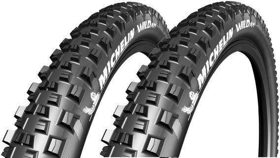 Par De Pneus Michelin 29x2.35 Wild Competition All Mountain