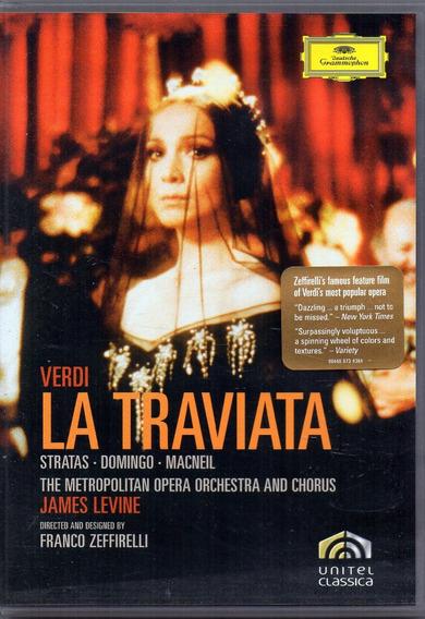 Giuseppe Verdi - La Traviata Stratas - Domingo - Macneil Dvd