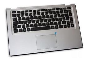 Teclado Iluminado E Base Touchpad Lenovo Yoga 2 13 + Brinde