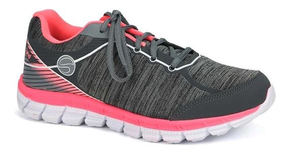 Promoção Tênis Caminhada Academia Feminino Sinergy Lynd 492