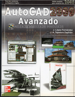 Autocad Avanzado 2009 / Libro Físico + Cd / Mc Graw Gill