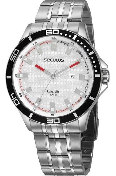Relógio Seculus Masculino Original Prova D