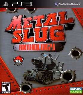 Metal Slug Colection 1,2,3,4,5,6,x Ps3 Digital