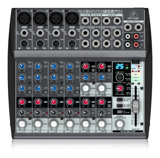 Consola Behringer Xenyx 1202fx 4 Xlr 2 Estéreo