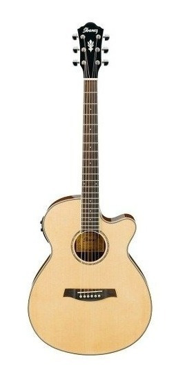 Guitarra Electro Acústica Ibanez Aeg10ii Nt Con Fishman 6pag