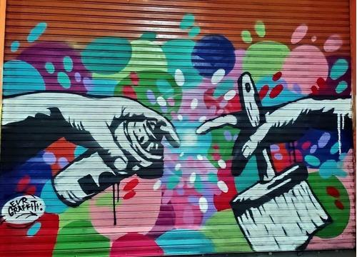 Graffiti Murales Infantiles Eventos No Plotter