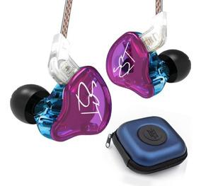 Fone Kz Zst Pro In-ear + Bag Dual Drive Moxpad Se215