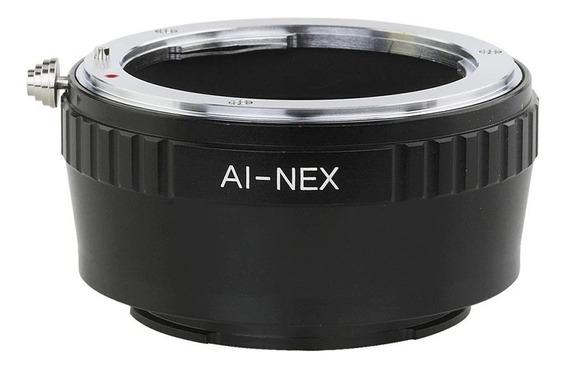 Anel Adaptador Lente Nikon F Ais Ai-nex Sony Nex 7 6 5 3 C3