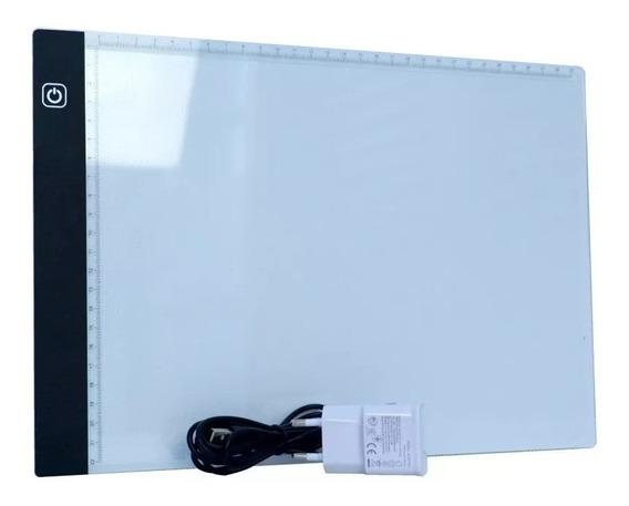 Mesa De Luz Led A4 Slim Profissional - Desenho/transposição