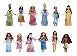 Princesa De Disney Royal Brillo Y Moana Muneca De Moda