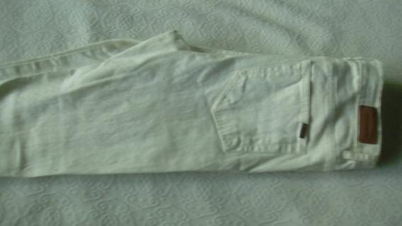 Pantalon Blanco Materia Nro 25 Liviano