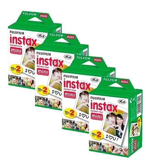 Película Fujifilm Pack X4 Instax Mini ,4x20 (12901)