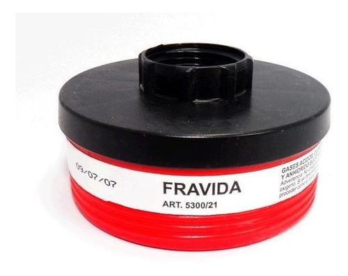 Filtro Fravida 5300/21 Gases Acidos Cloro X Unidad