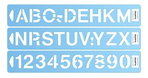 Letras Y Numeros Plantec Helvetica En Pvc 100 Mm 12299
