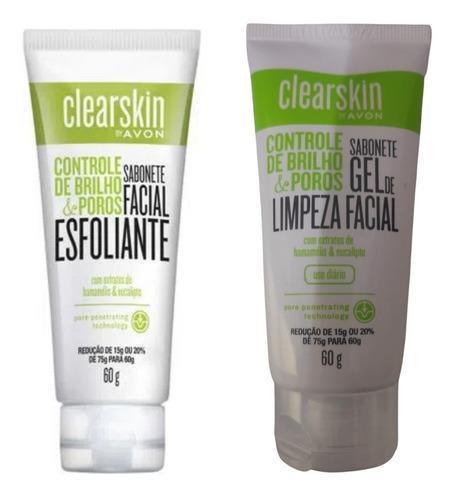 Imagem 1 de 1 de Kit Esfoliante + Gel De Limpeza Clearskin 60g - Avon