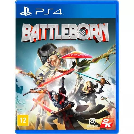 Jogo Battleborn Para Sony Ps4 Mídia Física Lacrado