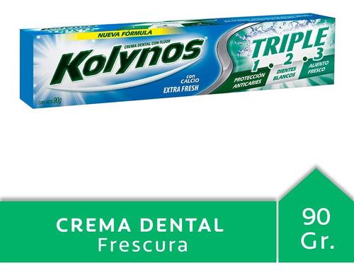 Kolynos Triple 1 2 3 Ext.frescura 90 G