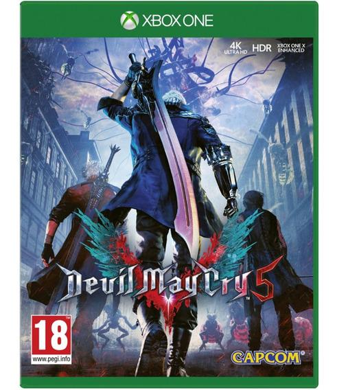 Jogo Devil May Cry 5 Dmc Xbox One Midia Fisica Game Lacrado Português Oferta