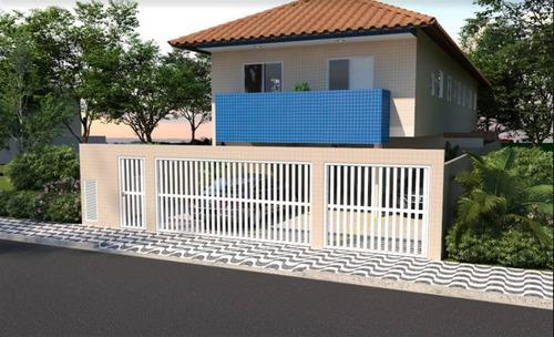 Casa, 2 Dorms Com 44.89 M² - Vila Sonia - Praia Grande - Ref.: Blv75 - Blv75