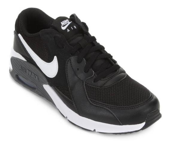 Tênis Casual Masculino Nike Air Max Preto/branco