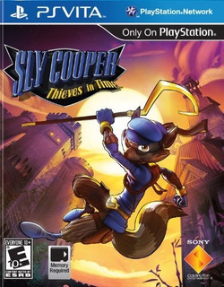 Sly Cooper: Thieves In Time - Playstation Vita