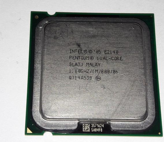 Processador Intel Dual Core 1.60ghz E2140 Lg 775 Nfe