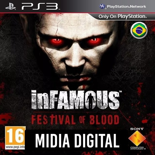 Infamous Festival Of Blood - Ps3 Psn*
