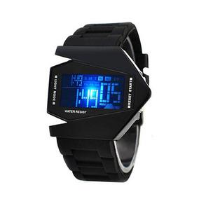 Relógio De Pulso Masculino Digital Estilo Silicone