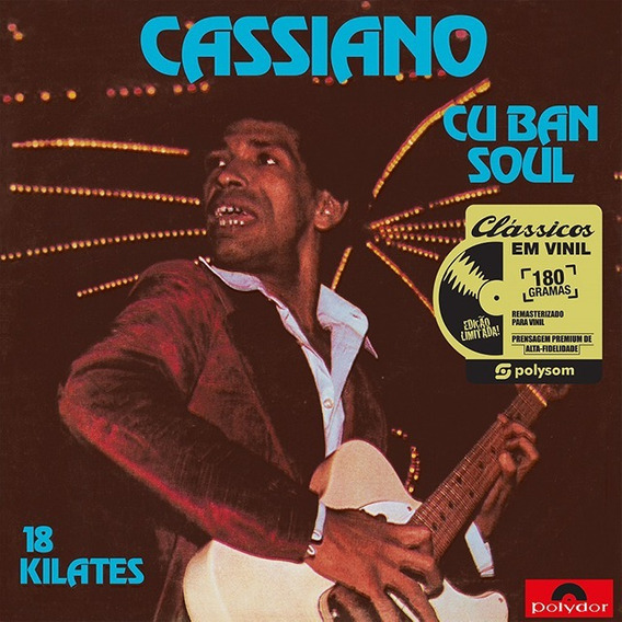 Lp Cassiano Cuban Soul 18 Kilates Vinil 180g Novo Frete Grát