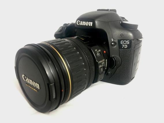 Camera Canon 7d Kit Lente Canon Ef 28-135mm F/3.5-5.6