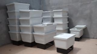 Hieleras Nuevas De Plastico 200 Envases Envio Gratis