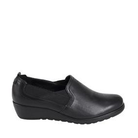 Zapato Confort Flexi 5104 Negro Comodo Conf 824649