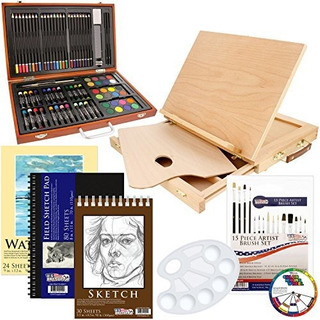 Us Art Supply 82 Piezas Deluxe Art Creativity Set En Estuche