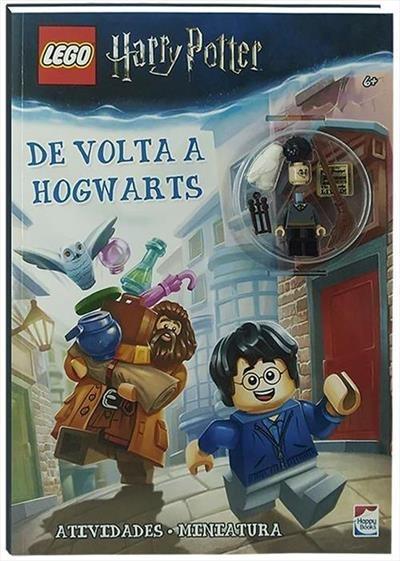 Livro Lego Harry Potter - De Volta A Hogwarts