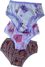 Kit Com 20 Calcinha Infantil 100% Algodao Varias Estampas 8678efd1bd2